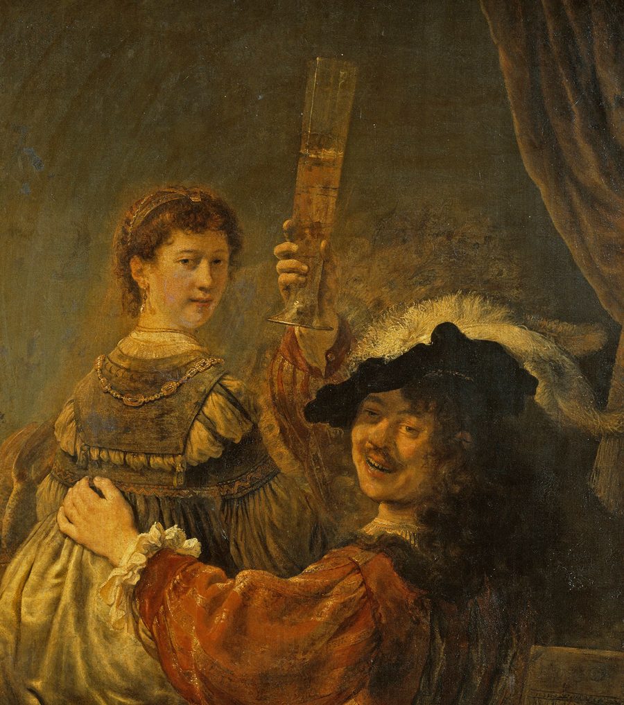 Rembrandt and Saskia in the Scene of the Prodigal Son